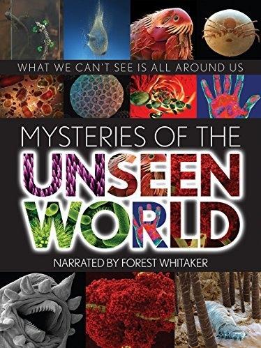 Mysteries of the Unseen World poster, copyright in handen van productiestudio en/of distributeur