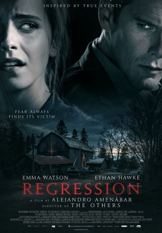 Regression poster, © 2015 Entertainment One Benelux