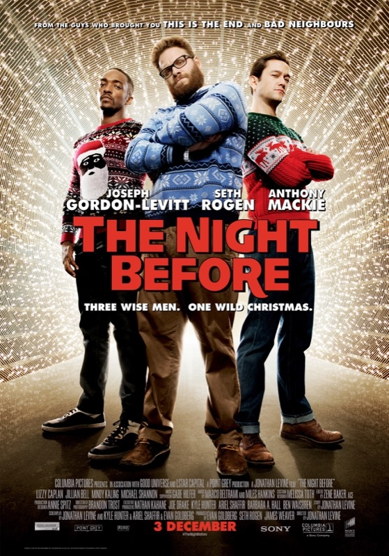 The Night Before poster, © 2015 Universal Pictures International