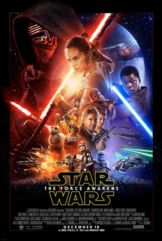 Star Wars: Episode VII - The Force Awakens poster, © 2015 Walt Disney Pictures