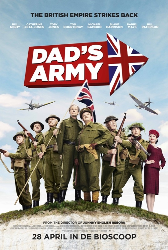 Dad's Army poster, © 2016 Universal Pictures International
