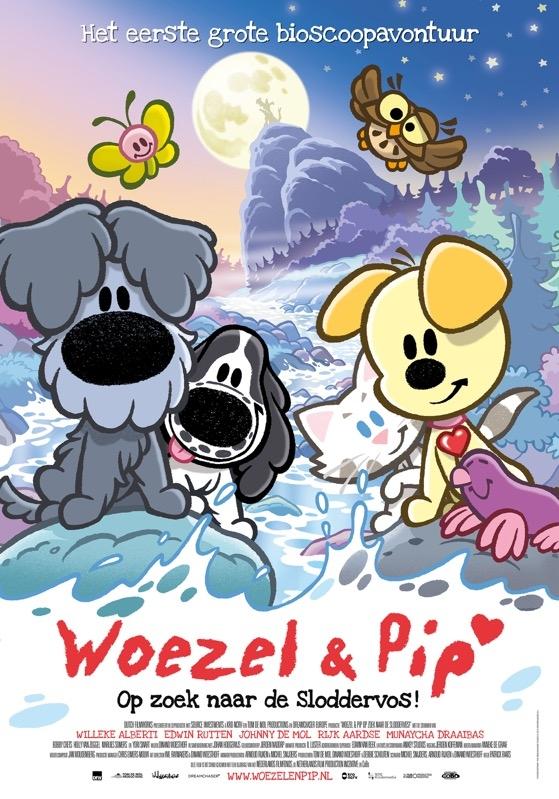 Woezel & Pip Op zoek naar de Sloddervos! poster, © 2016 Dutch FilmWorks