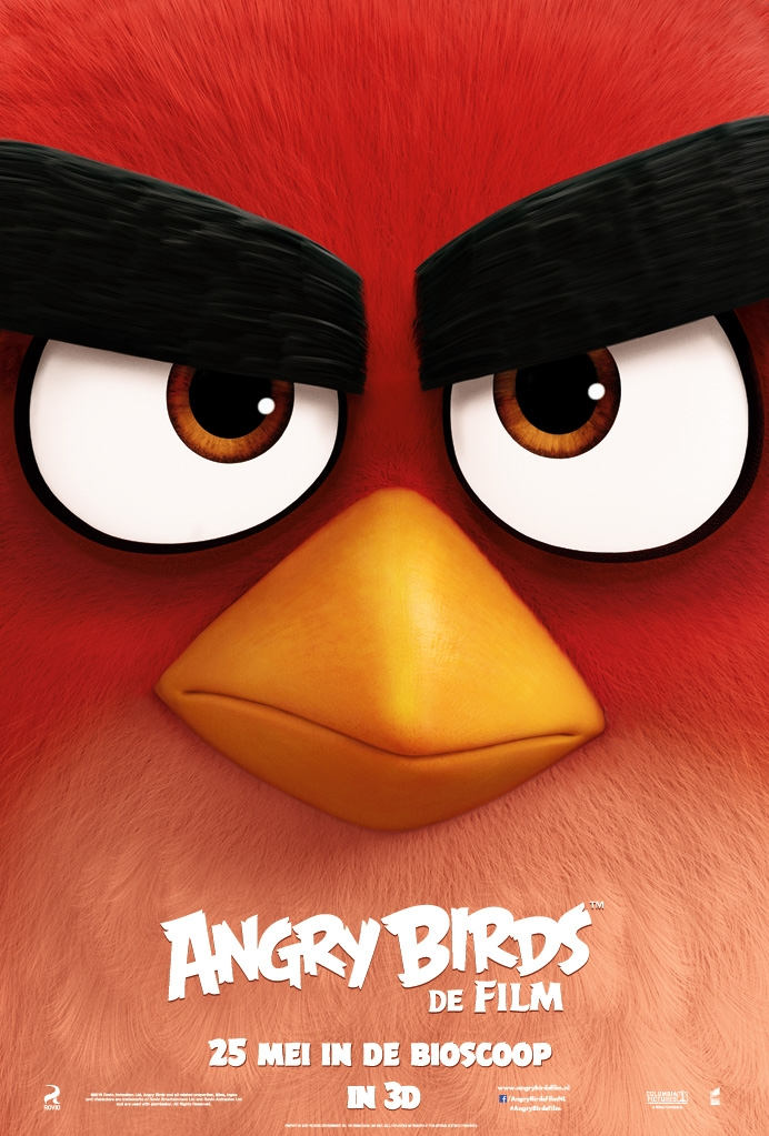 Angry Birds poster, © 2016 Universal Pictures International