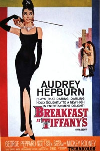 poster 'Breakfast at Tiffany's' © 1961 Paramount Pictures