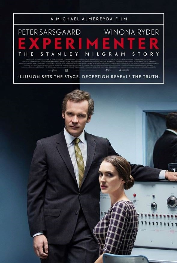 Experimenter poster, © 2015 Amstelfilm