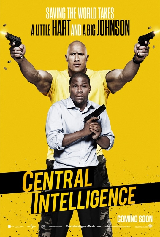 Central Intelligence poster, © 2016 Universal Pictures International