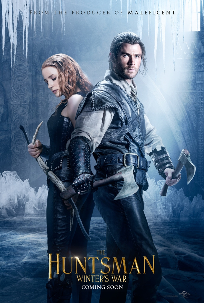 The Huntsman Winter's War poster, © 2016 Universal Pictures International