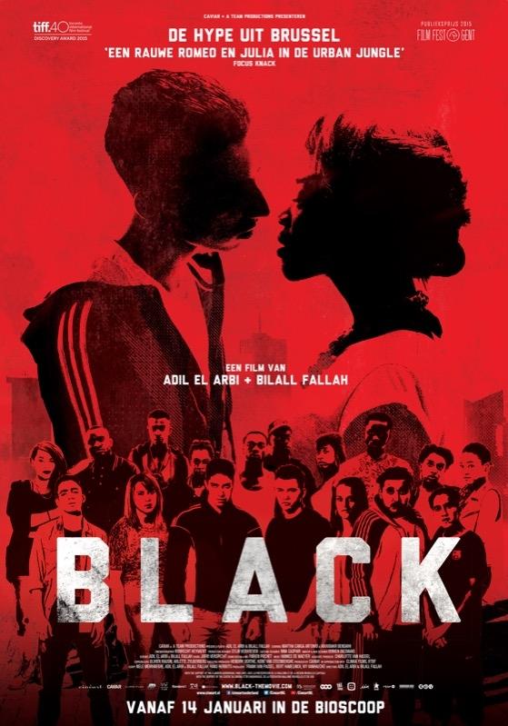 Black poster, © 2015 Cinéart