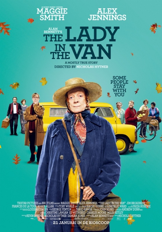 The Lady in the Van poster, © 2015 Universal Pictures International