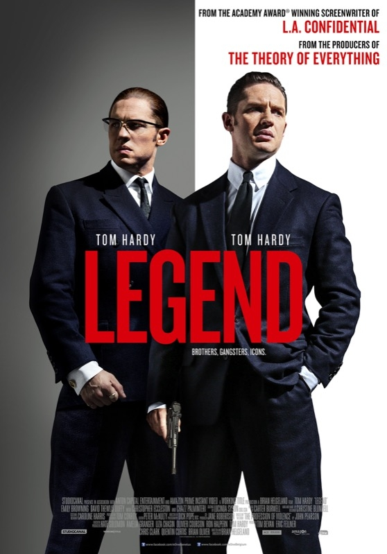 Legend poster, © 2015 Entertainment One Benelux