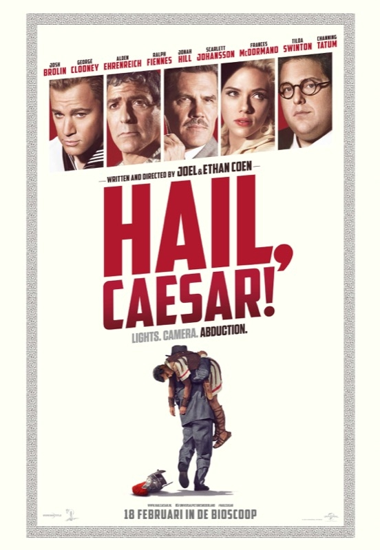 Hail, Caesar! poster, © 2016 Universal Pictures International