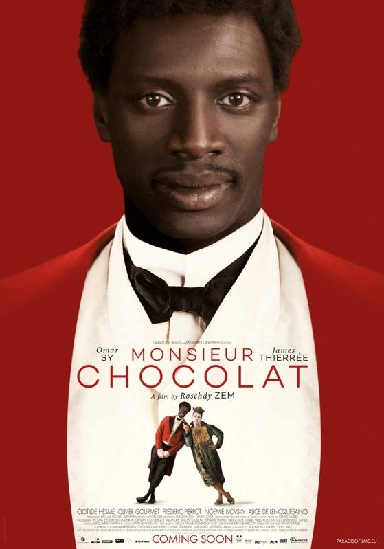 Monsieur Chocolat poster, © 2016 Paradiso