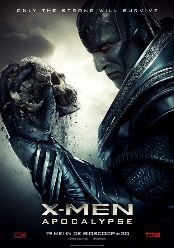 X-Men: Apocalypse poster, © 2016 20th Century Fox
