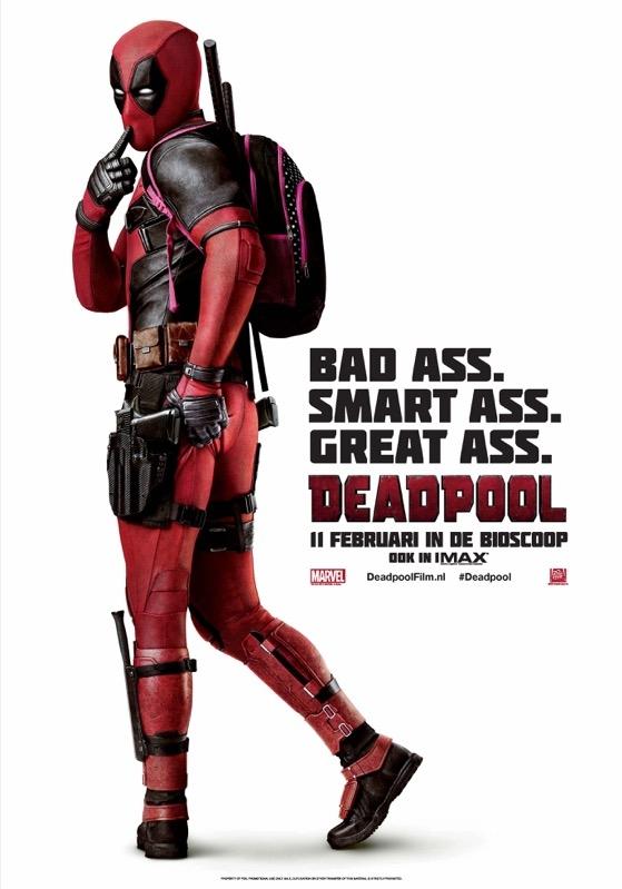 Deadpool poster, © 2016 20th Century Fox