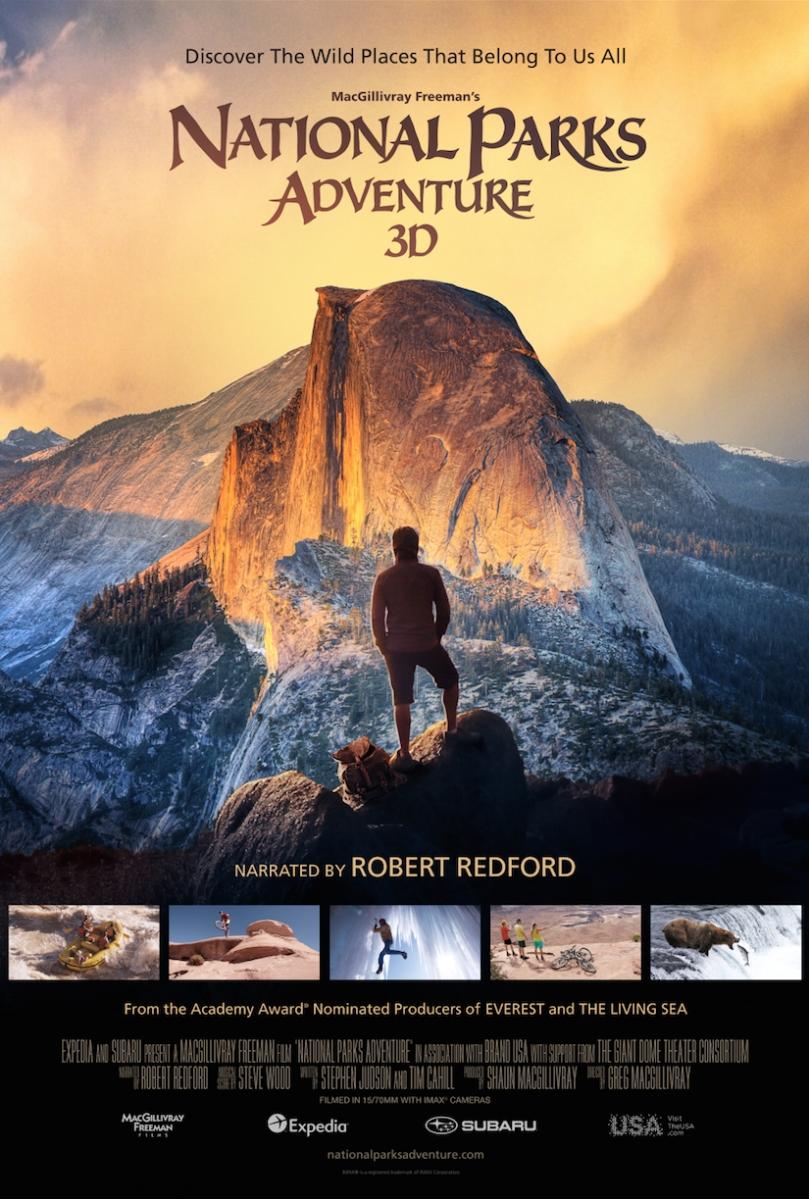 National Park Adventures poster, copyright in handen van productiestudio en/of distributeur