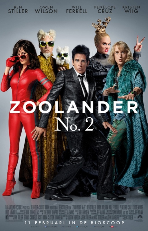 Zoolander 2 poster, © 2016 Universal Pictures International