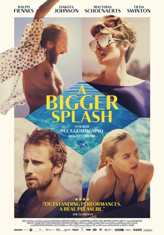 A Bigger Splash poster, © 2015 Lumière