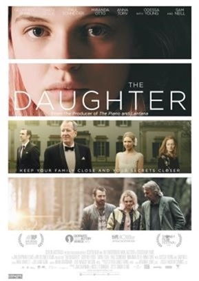 The Daughter poster, © 2015 Cherry Pickers
