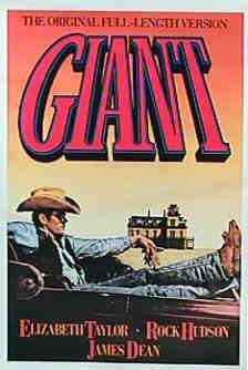 Poster 'Giant' © 1956 Warner Bros.