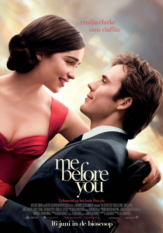 Me Before You poster, © 2016 20th Century Fox