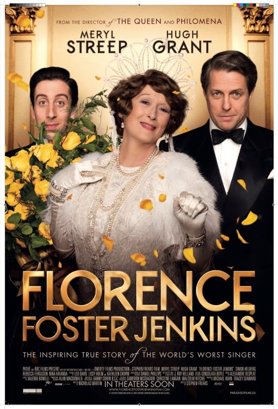 Florence Foster Jenkins poster, © 2016 Paradiso