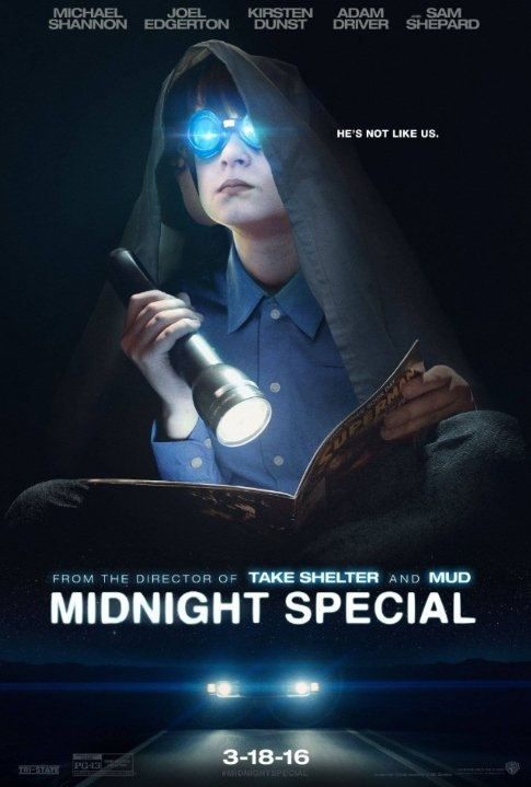 Midnight Special poster, © 2016 20th Century Fox