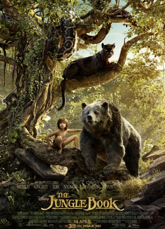 The Jungle Book poster, © 2016 Walt Disney Pictures