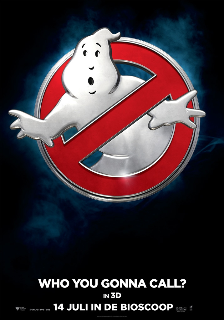Ghostbusters poster, © 2016 Universal Pictures International