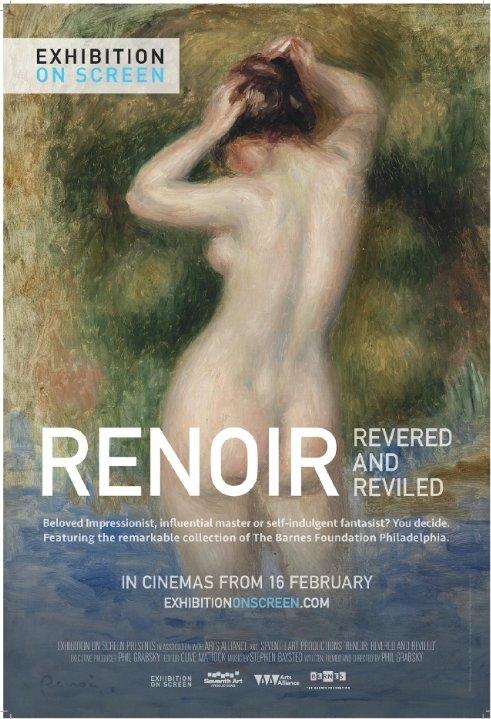 Renoir: Revered and Reviled poster, copyright in handen van productiestudio en/of distributeur