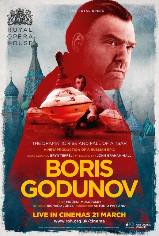 Opera: Boris Godunov poster, copyright in handen van productiestudio en/of distributeur