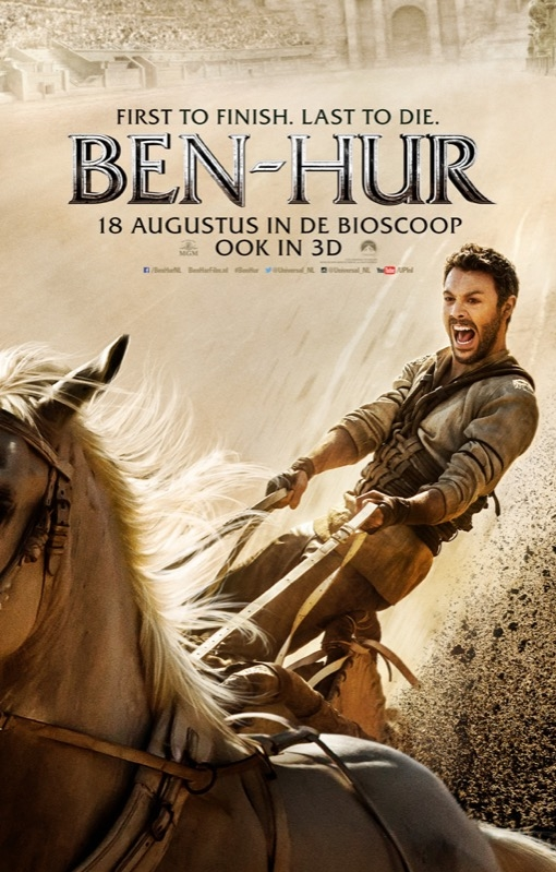 Ben-Hur poster, © 2016 Universal Pictures International