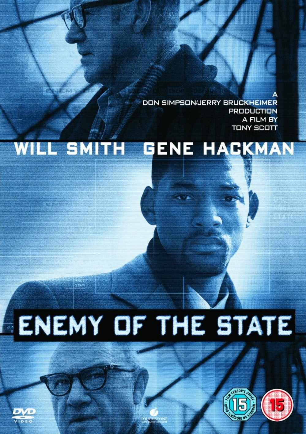 Enemy of the State poster, copyright in handen van productiestudio en/of distributeur