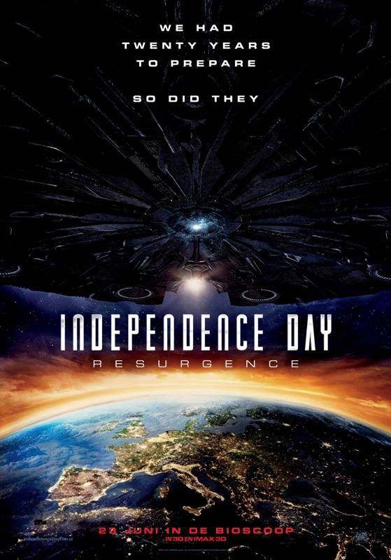 Independence Day: Resurgence poster, © 2016 20th Century Fox