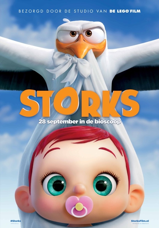 Storks poster, © 2016 Warner Bros.
