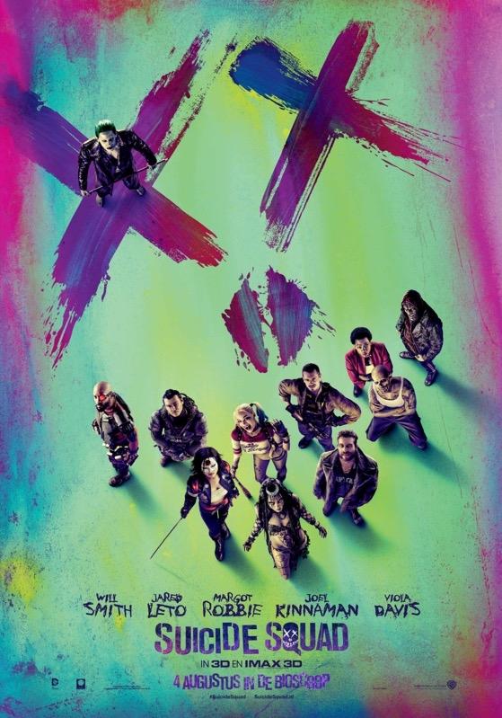 Suicide Squad poster, © 2016 Warner Bros.