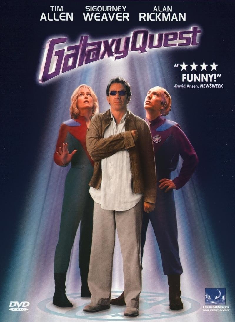 Galaxy Quest poster, copyright in handen van productiestudio en/of distributeur