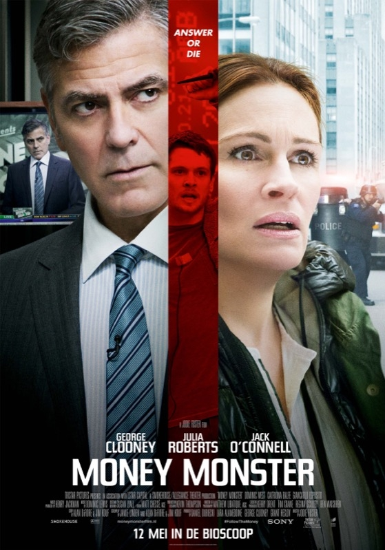Money Monster poster, © 2016 Universal Pictures International