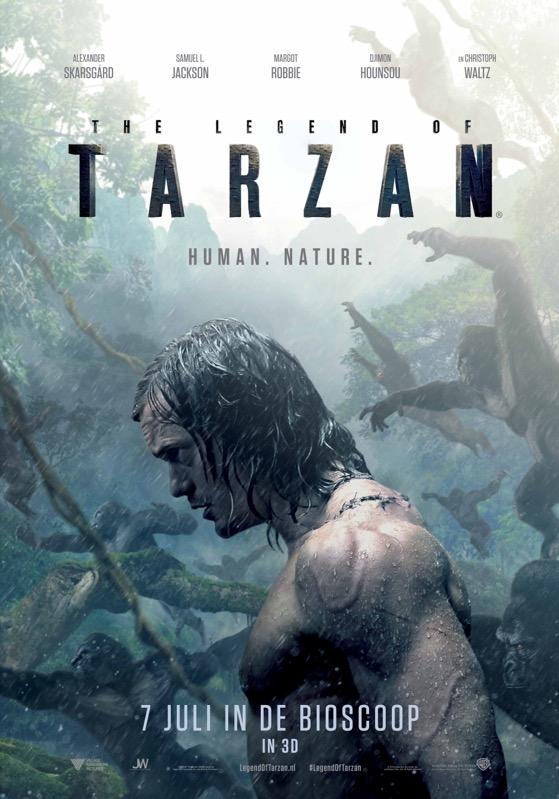 The Legend of Tarzan poster, © 2016 Warner Bros.