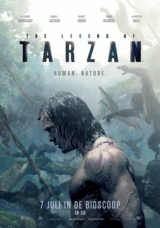 The Legend of Tarzan poster, © 2016 Warner Bros.