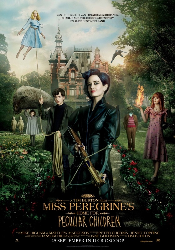 Miss Peregrine's Home for Peculiar Children poster, © 2016 20th Century Fox