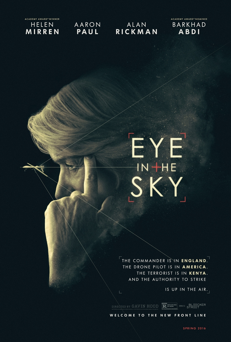Eye in the Sky poster, © 2015 Entertainment One Benelux