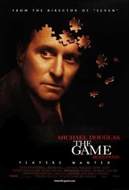 The Game poster, copyright in handen van productiestudio en/of distributeur