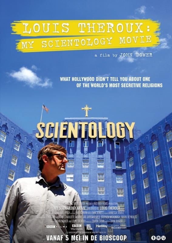 My Scientology Movie poster, © 2015 Cinema Delicatessen