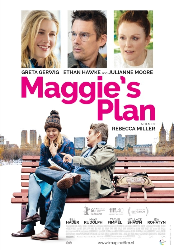 Maggie's Plan poster, © 2015 Imagine