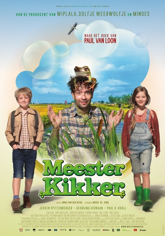 Meester Kikker poster, © 2016 Dutch FilmWorks