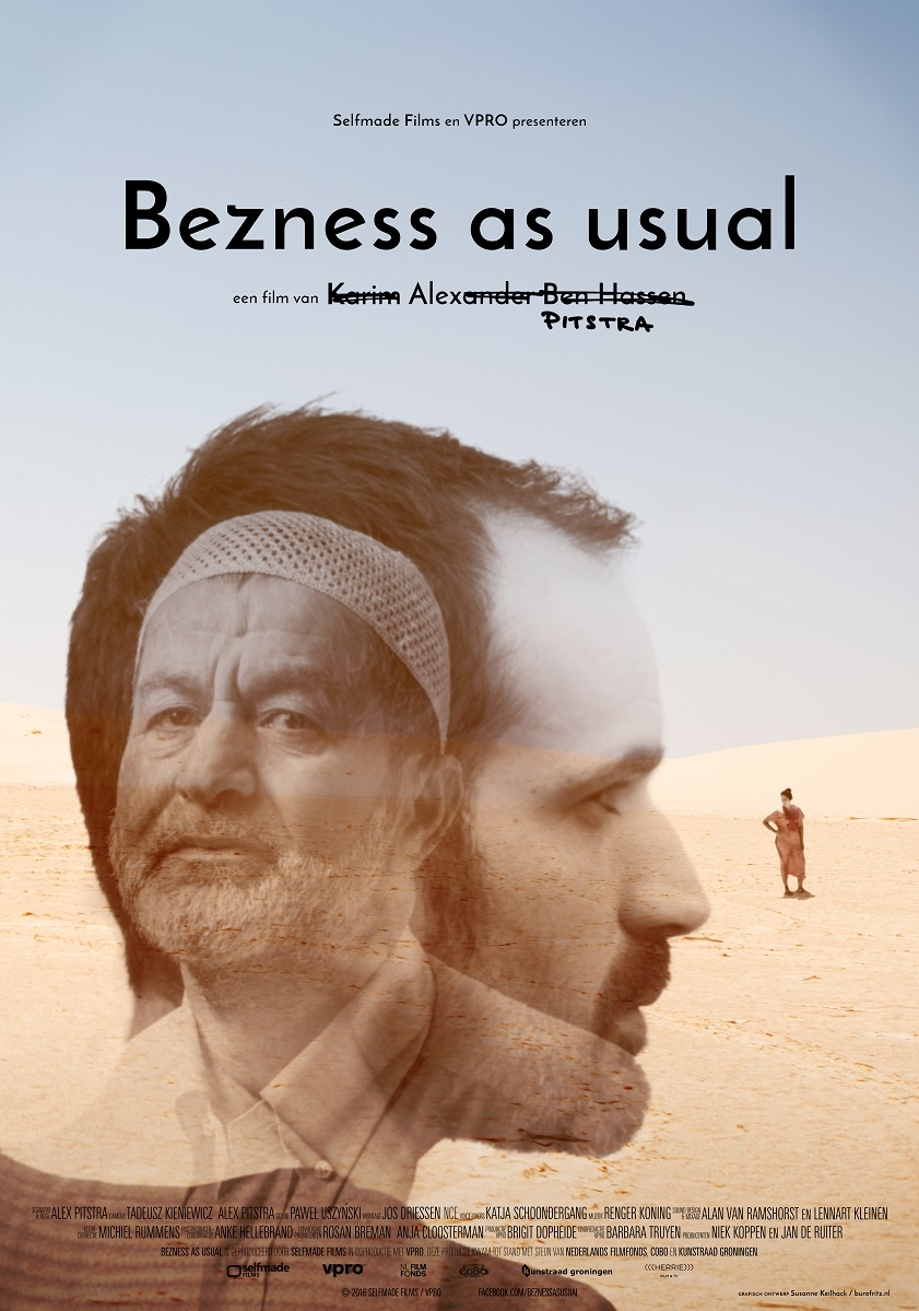 Bezness as Usual poster, © 2016 Herrie
