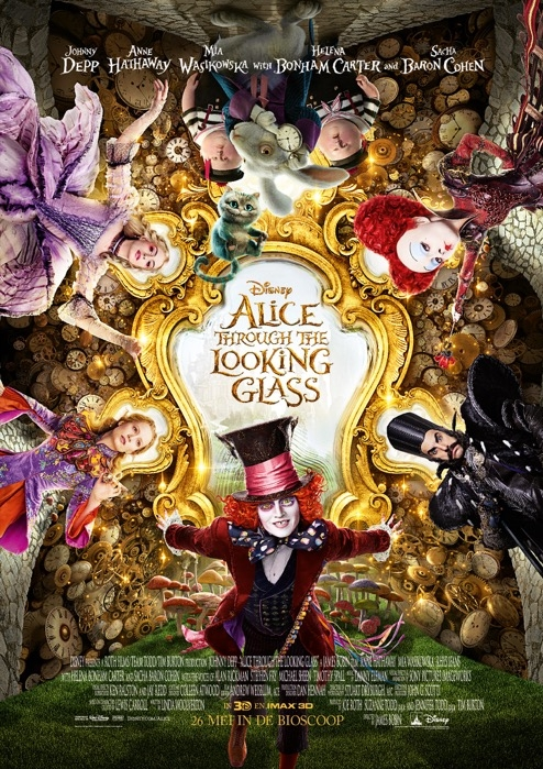 Alice: Through the Looking Glass poster, © 2016 Walt Disney Pictures