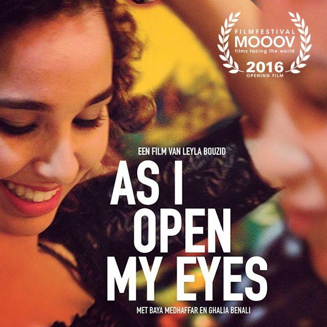 À peine j'ouvre les yeux poster, © 2015 MOOOV Film Distribution