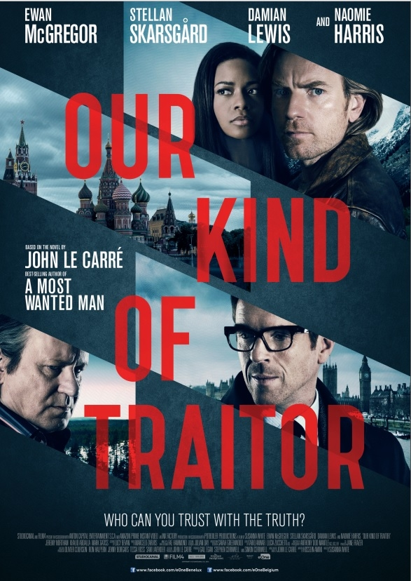 Our Kind of Traitor poster, © 2016 Entertainment One Benelux