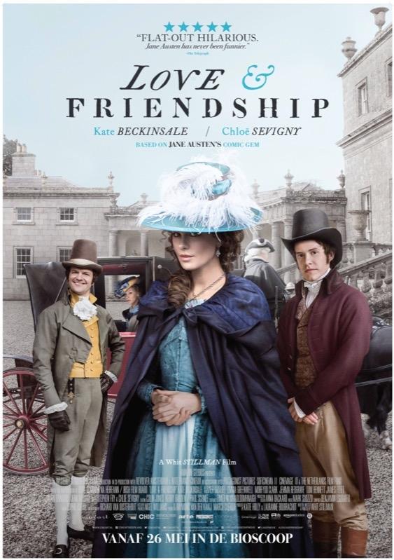 Love & Friendship poster, © 2016 Cinéart